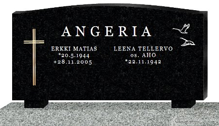 Tombstone design Angeria